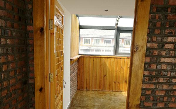 仿古实木门设计安装施工案例