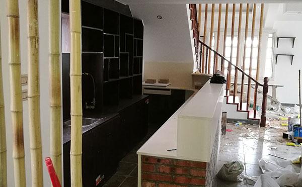 收银台设计装修施工案例