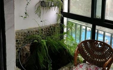 室内阳台个性化设计施工案例
