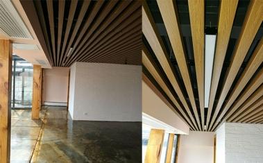 铝通吊顶设计安装施工案例