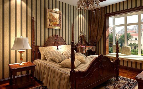 四川美式卧室