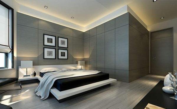 乐山现代简约卧室