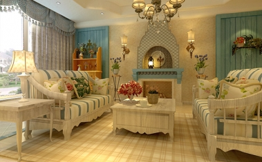 南充客厅装修设计