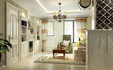 南充小户型客厅装修