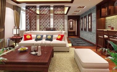 南充中式客厅装修
