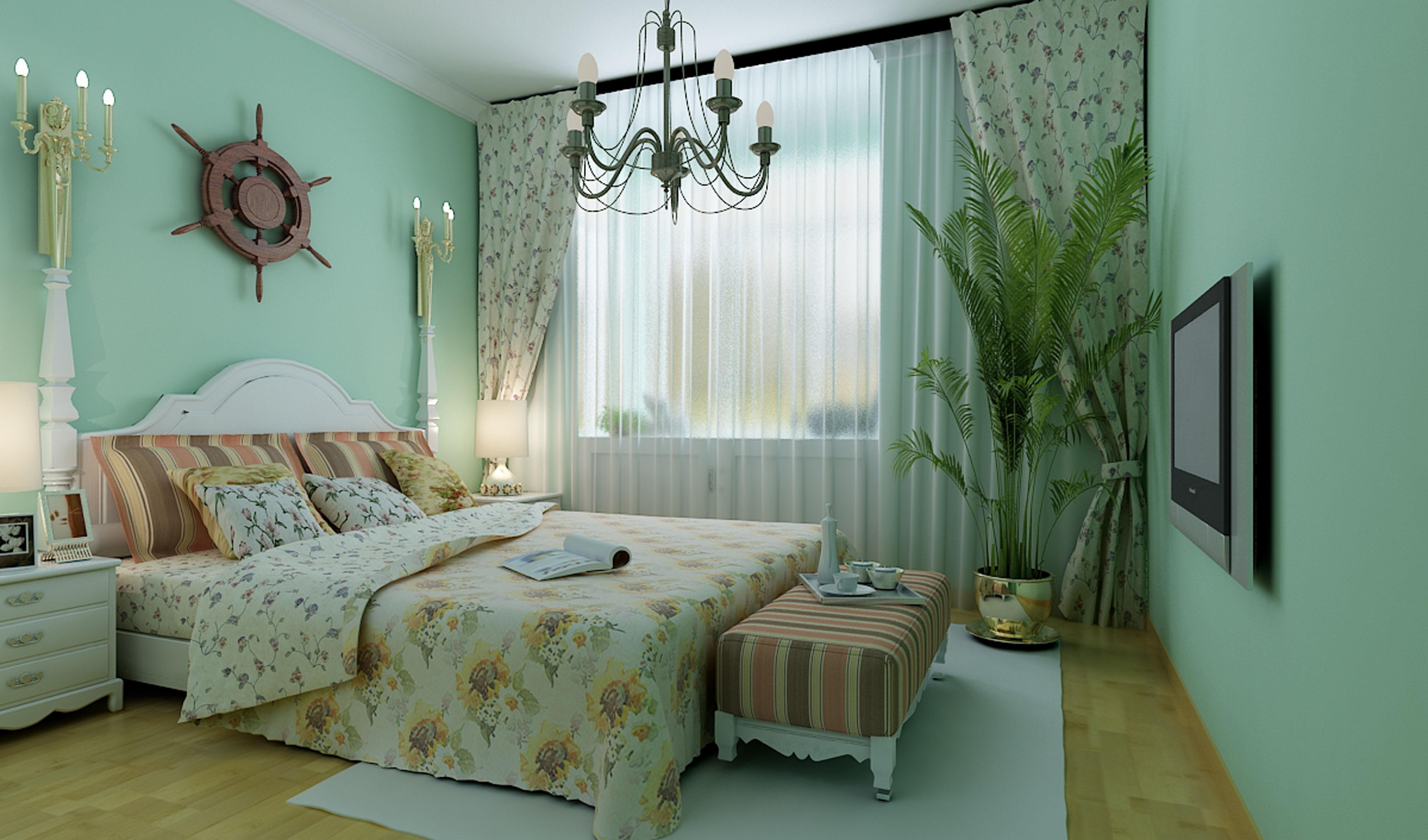 田园卧室龙8娱乐网页版